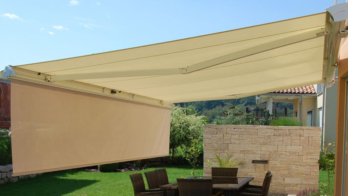 reputable site 98609 c6bde Sunteca adds the LUXAFLEX® SUNRAIN® Folding Arm Awning to ...