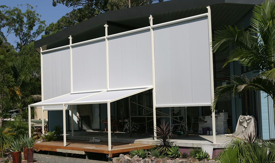 Vertical Cassette Blinds Awnings Sydney Sunteca