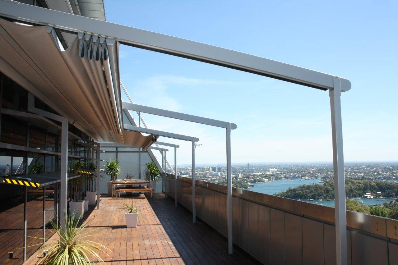 Retractable Roof Systems For Coca Cola Awnings Sydney
